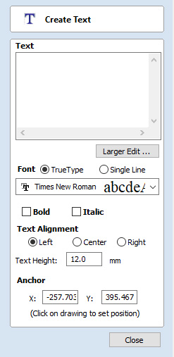 Advanced text Tools